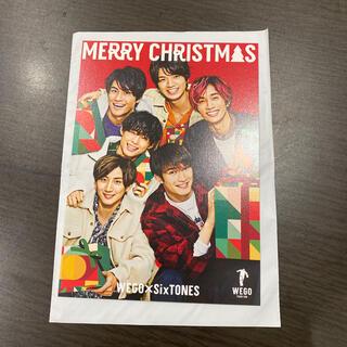 Johnny's - WEGO × SixTONES ポストカード クリスマスver.