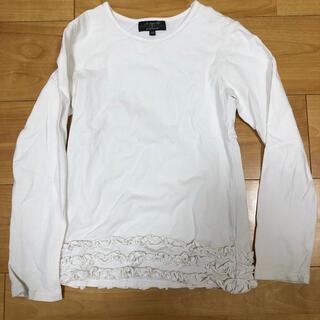 エーキャンビー(A CAN B)のACANB 長袖フリルカットソー 120(Tシャツ/カットソー)