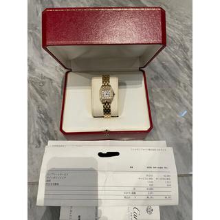 Cartier - 美品 カルティエ パンテール SM 純正ダイヤモンド 2重ダイヤ 18k YG