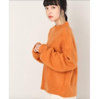 LOWRYS FARM - 【新品未使用】ブラッシュハイネックニット オレンジ