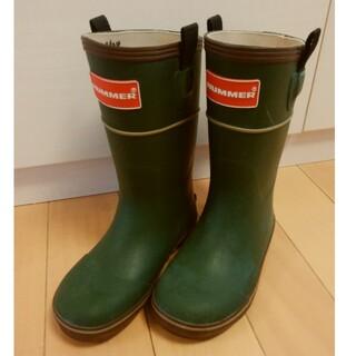 HUMMER - ハマー HUMMER 長靴 レインブーツ 21㎝