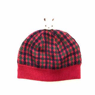 familiar - ファミリア   ニット帽 帽子 ファミリアチェック