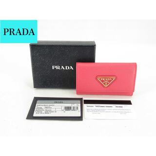 PRADA - 美品 PRADA プラダ 6連キーケース