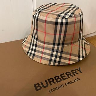 BURBERRY - 付属品付 直営店購入 バケットハット バーバリー BURBERRY 試着のみ美品