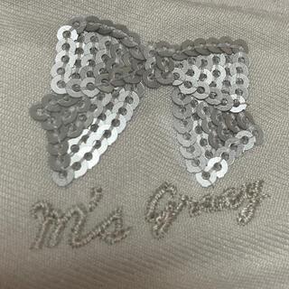 エムズグレイシー(M'S GRACY)の新品 エムズグレイシー リボン グレー(その他)