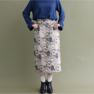 l'atelier du savon - アトリエドゥサボン  ジャガードスカート
