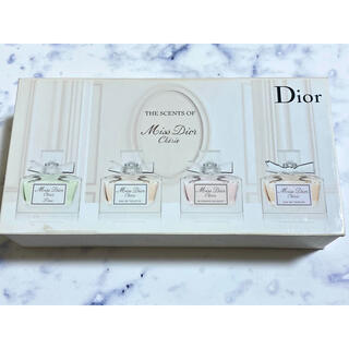 Christian Dior - THE SCENTS OF Miss Dior Cherie ミニ香水4点セット