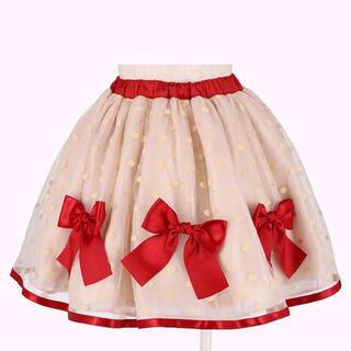 Shirley Temple - シャーリーテンプル  リボンスカート110