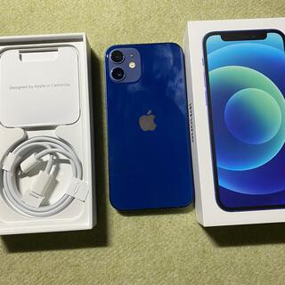 Apple - iPhone12 mini ブルー 64GB SIMフリー