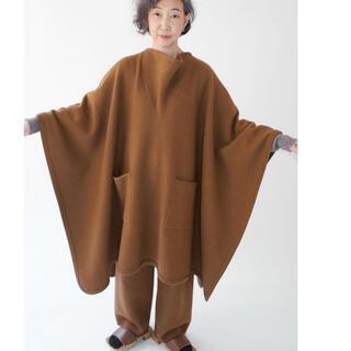 jonnlynx - cristaseya feletd wool maxi poncho