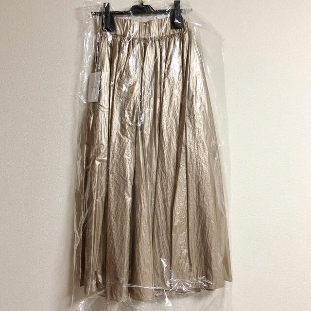 Ameri VINTAGE(アメリヴィンテージ)の AMERI   PAPER BAG SKIRT レディースのスカート(ロングスカート)の商品写真