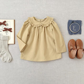 Caramel baby&child  - soor ploom ♡ ブラウス 5 Astrid Blouse, Maize