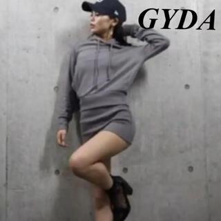 ジェイダ(GYDA)のジェイダ パーカー スカート オールインワン ワンピース(オールインワン)