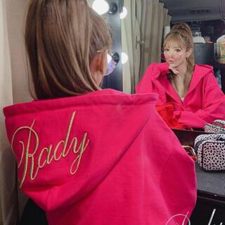 Rady - Rady  フーディー セットアップ ピンク