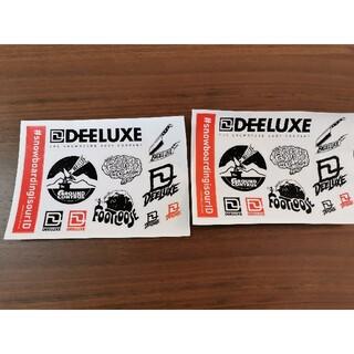 ディーラックス(DEELUXE)のディーラックス ステッカーシート 2枚(アクセサリー)
