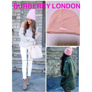 バーバリー(BURBERRY)のバーバリーロンドン BURBERRY LONDON ニット帽(ニット帽/ビーニー)