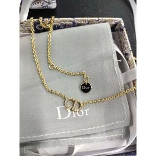 Dior - 【Dior】ディオール CLAIR D LUNE ネックレス ゴールド メタル