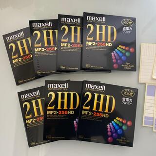 マクセル(maxell)のmaxell 省電力フロッピー 2HD 7枚(PC周辺機器)