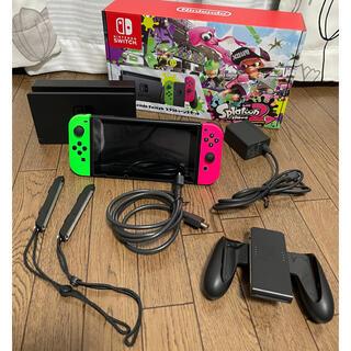 Nintendo Switch - switchスプラトゥーン2セット(本体のみ)