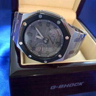 G-SHOCK - 最新カラー シルバー×ブラック G-SHOCK GA-2110ET-8AJF