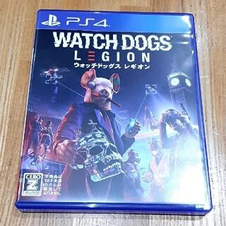 プレイステーション4(PlayStation4)のウォッチドッグス レギオン Watch Dogs Legion ★ PS4 美品(家庭用ゲームソフト)