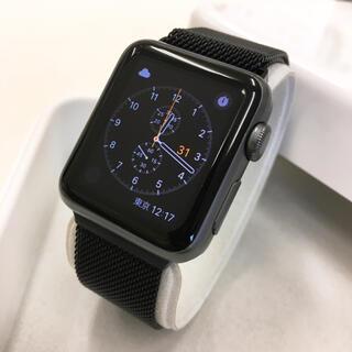 アップルウォッチ(Apple Watch)のApple Watch SPORT 38mm グレー色 アップルウォッチ(その他)
