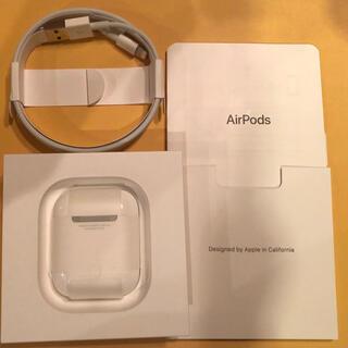 Apple - 美品 Apple AirPods 第2世代MV7N2J/A