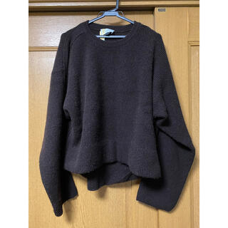 SUNSEA - YOKE 7G ALPACA WOOL KNIT