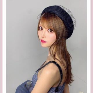eimy istoire - 完売商品♡チュールベレー帽 黒 ブラック