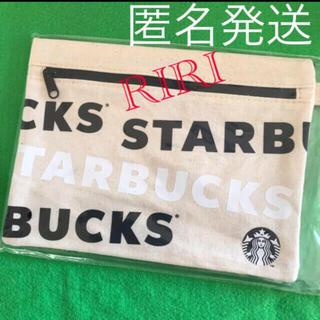 Starbucks Coffee - スターバックス ポーチ ロゴ ホリデー 限定 ノベルティブラック