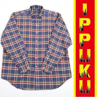 Ralph Lauren - ○90年代 90s ラルフローレン ビッグシャツ チェック ビッグシルエット
