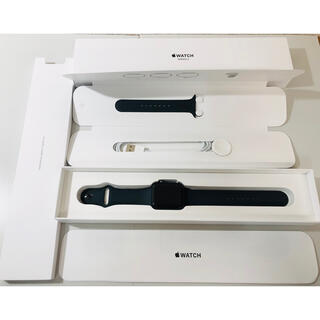 Apple Watch - Apple Watch series 3 42mm スペースグレイ GPS