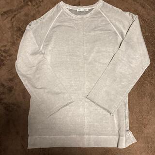 アーバンリサーチ(URBAN RESEARCH)のURBAN RESEARCH ダメージ加工ロンT サイズL(Tシャツ/カットソー(七分/長袖))