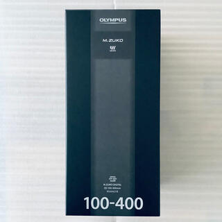 OLYMPUS - 未使用品 オリンパス M.ZUIKO 100-400mm F5.0-6.3 IS