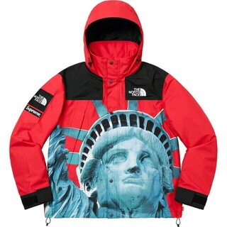 Supreme - supreme×tnf mountain jacket red Sサイズ