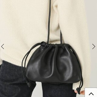 DEUXIEME CLASSE - 完売 新品 ドゥーズィエムクラス CELERI BAG ブラック セルリ バッグ