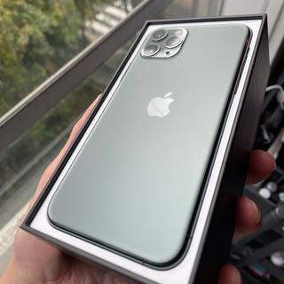 アップル(Apple)のiPhone 11 Pro 256GB ミッドナイトグリーン 香港版 シムフリー(スマートフォン本体)