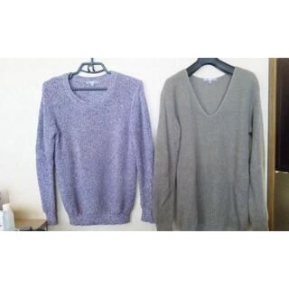 ユニクロ(UNIQLO)のユニクロ セーター size:L 2枚セット(ニット/セーター)
