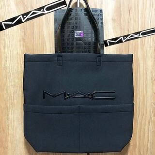 マック(MAC)の★新品レア◆MACマック◆非売品ビッグなトートバッグ・黒(トートバッグ)