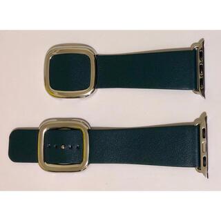 アップルウォッチ(Apple Watch)の新品 Apple Watch モダンバックル グリーン 38-40mm(腕時計)