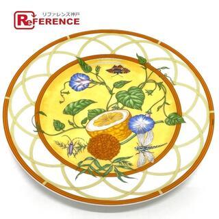 エルメス(Hermes)の新同 HERMES エルメス シエスタ お皿 フルーツ 昆虫 フラワー(その他)
