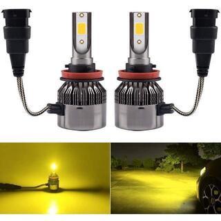 LED フォグランプ H8 H9 H11 H16 黄色 イエロー 3000K ¥(天井照明)