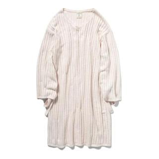 gelato pique - 【新品】ジェラートピケ エアリーモコ ドレス ピンク