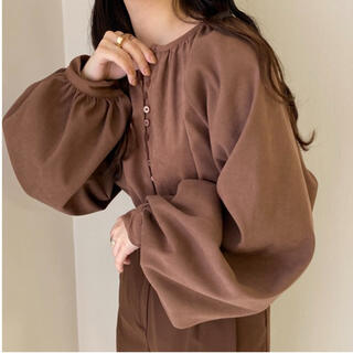 TODAYFUL - lawgy suede center blouse