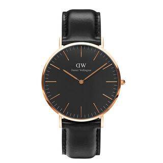 【40㎜】ダニエル ウェリントン腕時計DW00100127 〈3年保証付〉