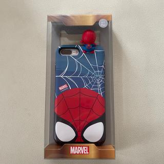 マーベル(MARVEL)のマーベル スパイダーマン スマホケース iPhone7+/8+(iPhoneケース)