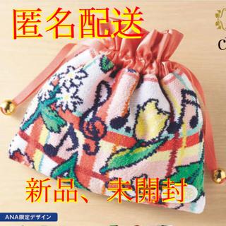 FEILER - 【ANA機内販売】【新品、未開封】フェイラー チェスティ コラボ 巾着 ポーチ
