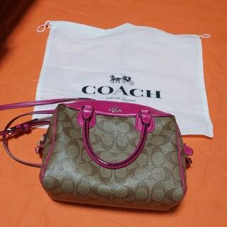 COACH - COACH ショルダーバッグ (ピンク)