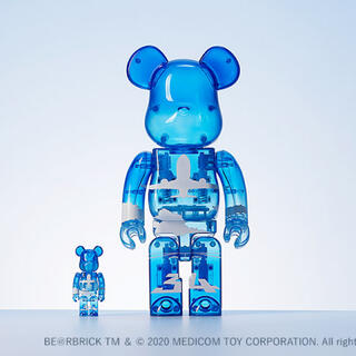 MEDICOM TOY - BE@RBRICK for ANA ANAブルースカイ 100% & 400%