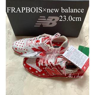 New Balance - 新品 フラボア ニューバランス WL996FQ 23.0cm 水玉 赤